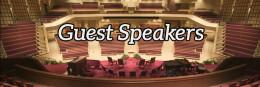 GUEST SPEAKER: Brad Gill