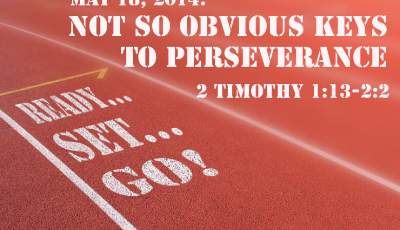 READY! SET! GO! Persevering through the Word | Sermons
